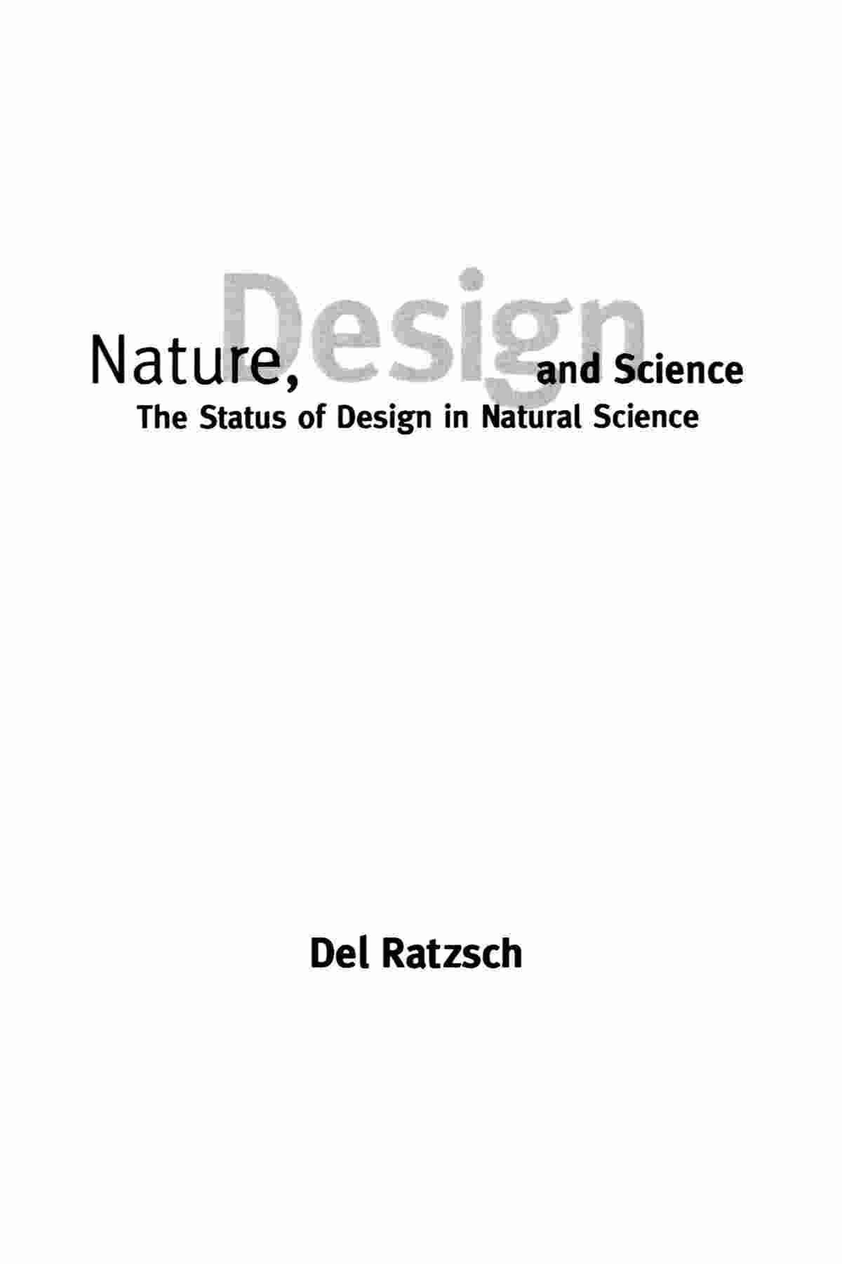 NatureDesignScience